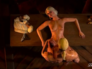 The Adult Video Experience Presents The Witcher – Ciri's and Geralt's obsession