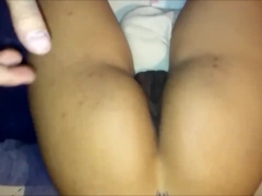 CHAT WITH HER BOYFRIEND WHILE I FILL HER ASSHOLE AND PUSSY WITH MY SPERM