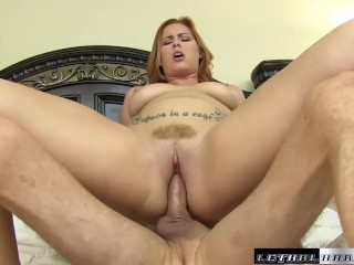 Hot blonde butt fucked luscious female fucks her horny neighbor butt big cock big boobs fema