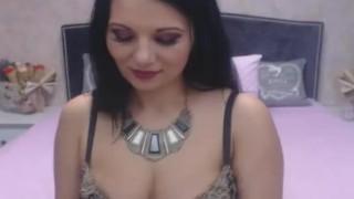Pretty Shemale Tugs her Cock Hard porno