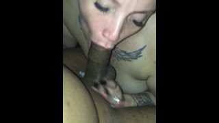 Camera of sucking caught a wifey bbc pov hidden out shit the bbc dick