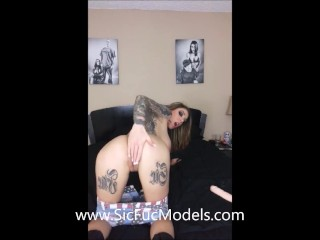 Karma Rx HUGE COCK in her ASS! ANAL