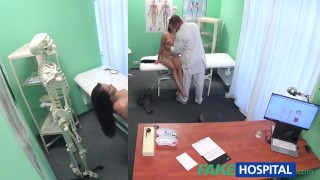 With examines cute cock fakehospital doctor patient hot sexy his pov cam