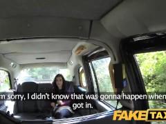 FakeTaxi Innocent teen takes on big cock