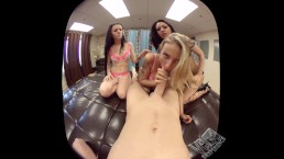 VR Sexperience - Triple blowjob