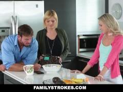 FamilyStrokes - Don't Tell Mom I fucked My Step-Dad