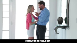 FamilyStrokes - Don't Tell Mom I fucked My Step-Dad Cougar canadian