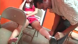 epic cheerleader blowjobs - Scene 2