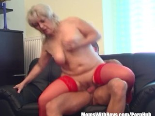 thick toy dildo fucking her tight shaved pussy