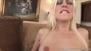 Gaping Asshole For Blonde MILF Babe Natural oral