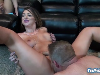 Redheadsporn Fucking, Curious Teen Joins Hot Couple For Threesome- Epic Facial Cumshot MILF Teen