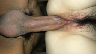 Creampie perfect up pussy