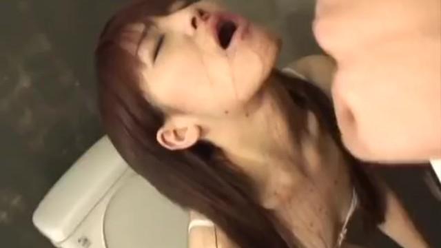 Nothing innocent in food dildo fucking megumi morita