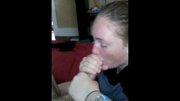 Awesome blowjob from blonde gf #2