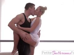 Teen Dancer Loses Innocence When She Fucks Teacher