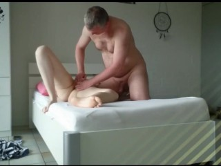 Licking Hot Teenager Pussy