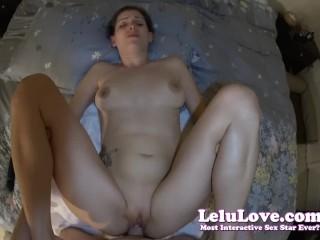 Lelu Love-POV Cum On Ass Then Creampie Too
