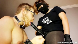 Kinky Strap on Sex by Hot Dommes