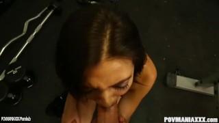 Sexy cock sante frida pov sucking mexican pov