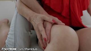 21Sextreme Granny Loves Anal Sex Pussy glasses