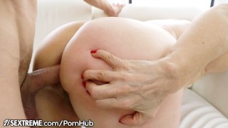 21Sextreme Granny Loves Anal Sex Chubby brunette