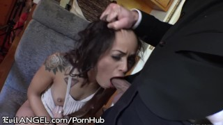 EvilAngel Teen Holly Hendrix Anal Intensity Game young