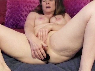Submissive Step Mommy Takes It In The Ass From Son (Simulated with toy)