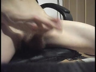 PLAYING WITH COCK WHILE ANAL PLUG – EXTERME CUMMING!!!!!!!!