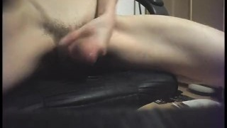 With plug cumming while anal playing cock exterme jerking cock