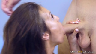 Kelsi Monroe gets a full physical - Brazzers Time blowjob