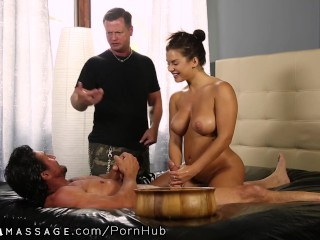 NuruMassage Keisha Grey Thanks Step-Dad and Uncle