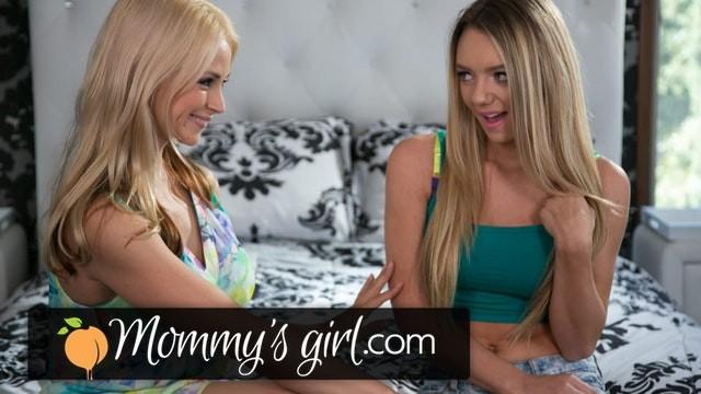MommysGirl Sarah Vandella Eaten Out by Step-Daughter