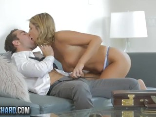 Wife Surprise 3some Fucking, Twistys Hard- august ames always gets her way Big Tits Blowjob Pornstar