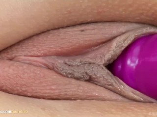 Chiara Ciss from Give Me Pink pleasuring herself with dildo