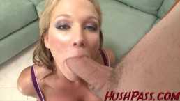 Jessa Rhodes pussy lips gripped his cock so tight