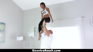 ExxxtraSmall - Petite Ebony Bounces On A Stiff Big Cock  team skeet piercings big cock exxxtrasmall ebony black small tits skinny big dick interracial pierced petite shaved facial small frame cum shot kendall woods