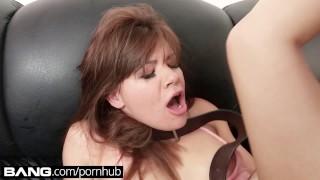 Up alison bang cum casting licks rey own her bangcom big