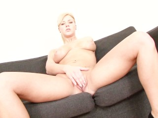 Free Pussy Squirting Video Fucking, Blonde MILF with juicy natural tits enjoying a good fuck Babe Big Tits Blonde