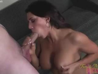 Leena Loves Sucking Big Cock