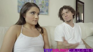 Stepbrother on video it get and sis full stepsiblingscaught step brother
