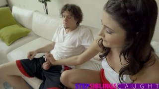 And stepbrother video sis full on it get stepsiblingscaught pussy sis