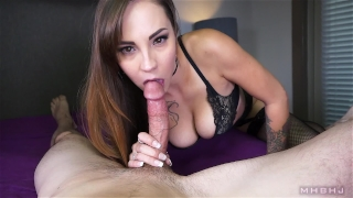 Sasha Foxxx - Legendary cock sucker Shot blowjob