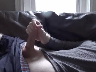 Spraying Semen On My Chest For Sonya -- JohnnyIzFine