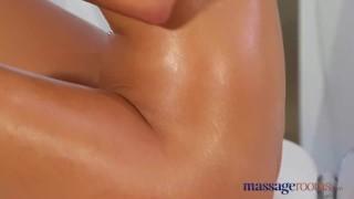Massage Rooms Big tits lesbians have orgasmic intimate sex