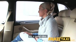 FakeTaxi Married lady sucks and fucks driver faketaxi dogging milf mom amateur blowjob mother spycam public car pov reality oral camera point-of-view czech