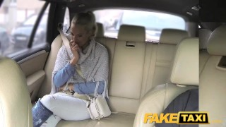 FakeTaxi Married lady sucks and fucks driver  oral point-of-view mom amateur blowjob public pov camera faketaxi milf spycam car reality czech mother dogging