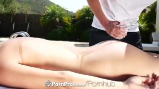 Preview 1 of Pornpros - Beautiful euro babe Christen Courtney fucked