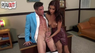 Lance Hart fucks his secretary Jade Jantzen PANTYHOSE SEX  lance-hart pantyhose kink latina sweetfemdom jade-jantzen fit office-sex ripped bodies shiny pantyhose