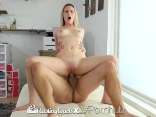 CastingCouch-X – Aubrey Sinclair first porn audition with CCX