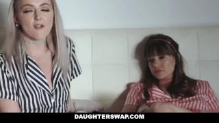 DaughterSwap - Teens Fucked By Dads best friend